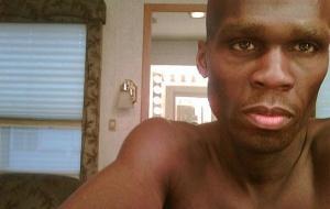 O cantor e ator 50 Cent após perder 20 kg. Na foto, ele com 72 quilos (27/5/2010)