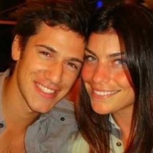 Joana Balaguer e o namorado Bernardo de Souza