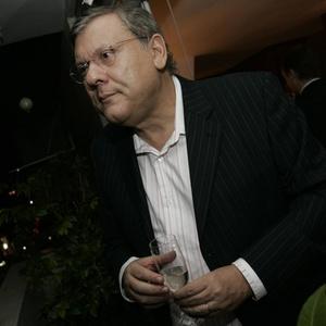 O apresentador Milton Neves (25/5/2009)