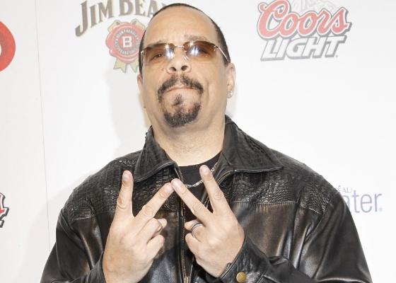 O rapper e ator Ice-T no tapete vermelho de festa da ESPN em Nova York (21/4/2010)