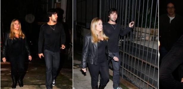 Susana Vieira e o namorado Sandro Pedroso visitam Cissa Guimarães em casa (20/7/2010)