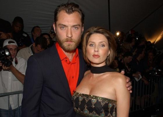 Jude Law e Sadie Frost na premiére do filme