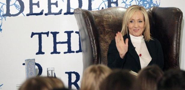 """A escritora J.K.Rowling, criadora da saga """"Harry Potter"""" - David Cheskin/AFP"""