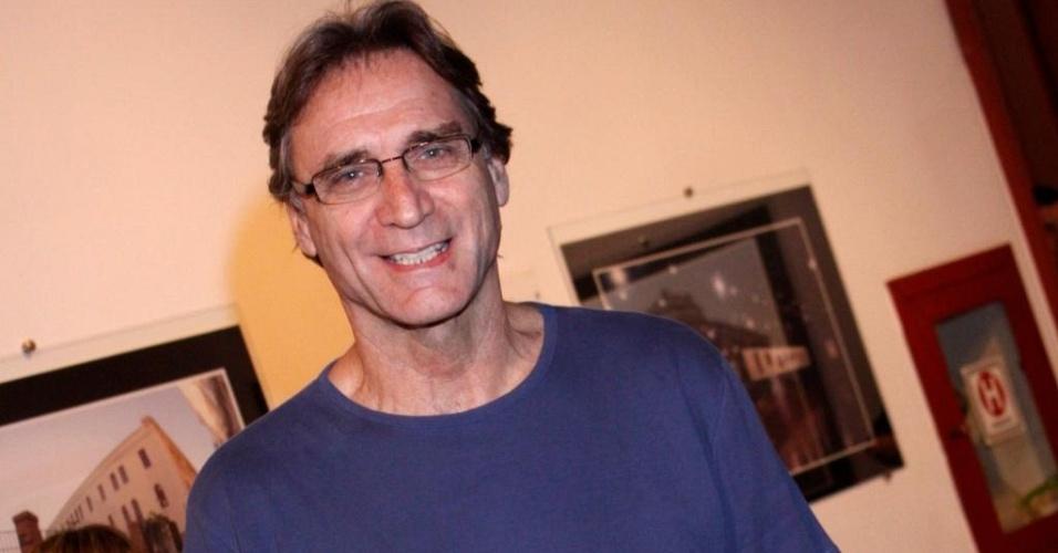 Herson Capri em estreia de peça, no Rio (3/9/10)