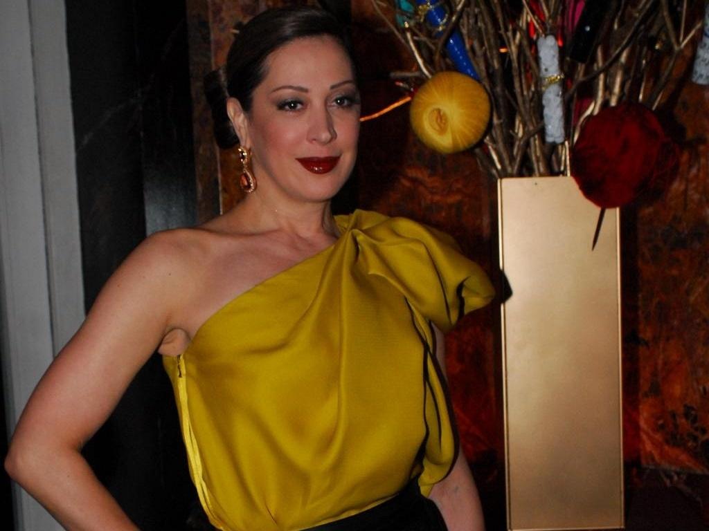 Claudia Raia em festa de lançamento de