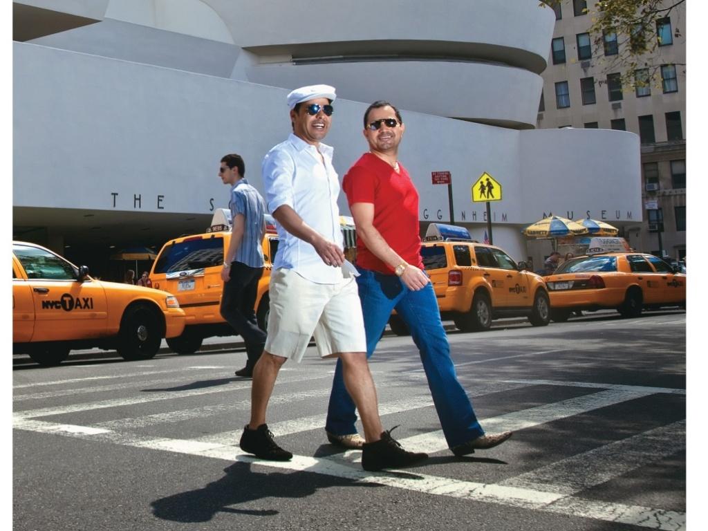 Zezé Di Camargo e Luciano em Nova York (setembro/2010)