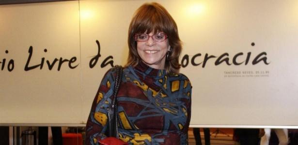 "Glória Perez, autora de ""Salve Jorge"""