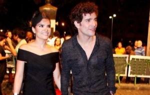 Vanessa Giácomo e Daniel de Oliveira vão à pré-estreia do filme