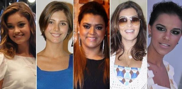 Sophie Charlotte, Tammy Di Calafiori, Preta Gil, Juliana Paes e Mariana Rios