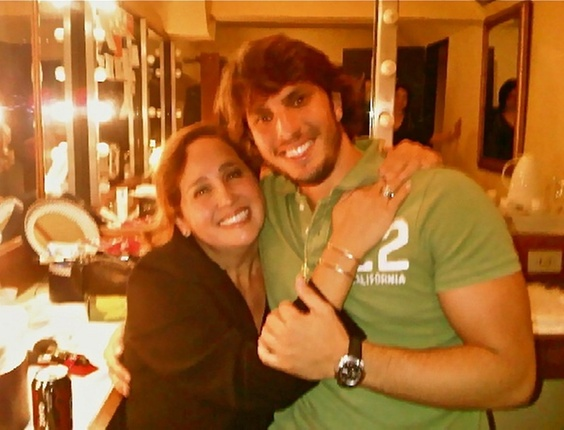 Claudia Jimenez posta foto de Rodrigo Bonadio no Twitter (25/10/10)