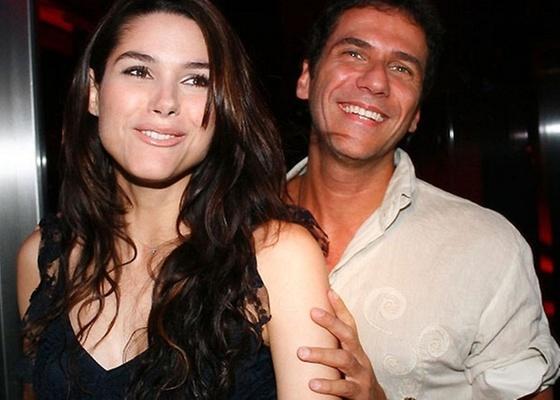 Fernanda Machado e Marcelo Faustini vão à boate