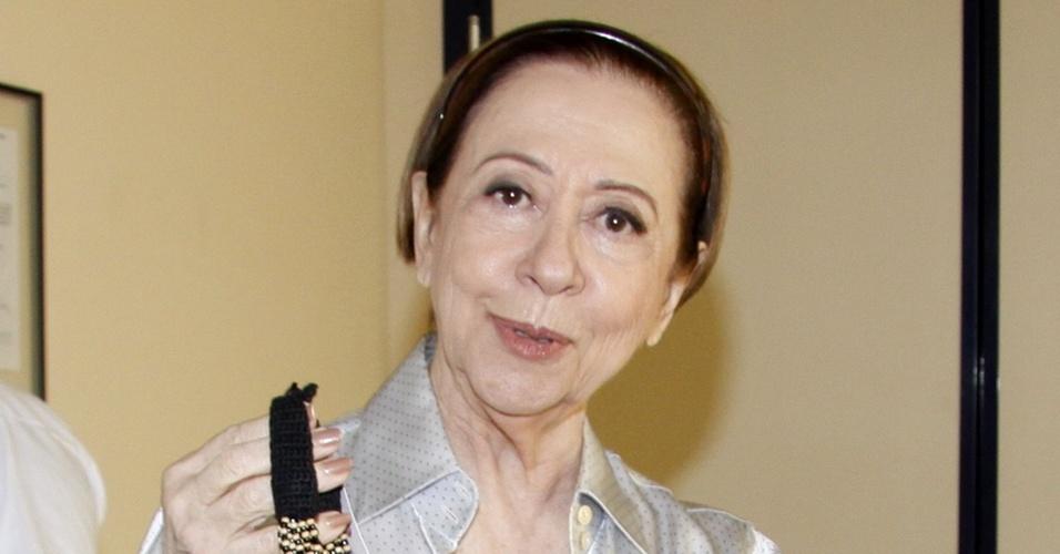 Fernanda Montenegro grava comercial no Rio de Janeiro (4/11/2010)