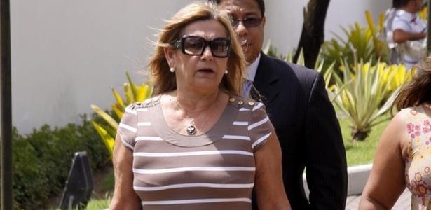 Mãe de Marcelo Silva acompanha depoimento de Ana Maria Braga no Rio de Janeiro (10/11/2010)