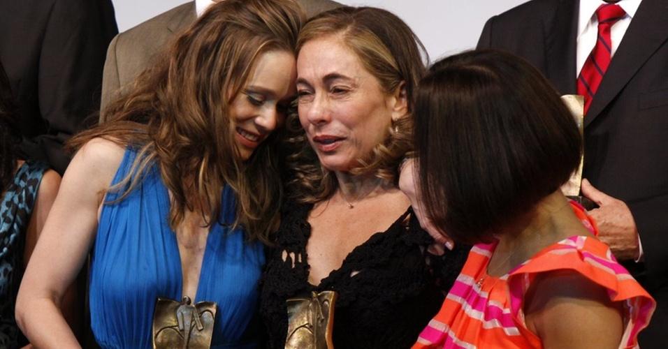 Mariana Ximenes, Cissa Guimarães e Carolina Ferraz, Cissa Guimarães na premiação da Revista Veja Rio,