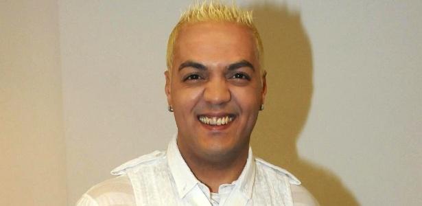 O cantor Belo participa de gravação de especial de fim de ano para a Globo (23/11/10)