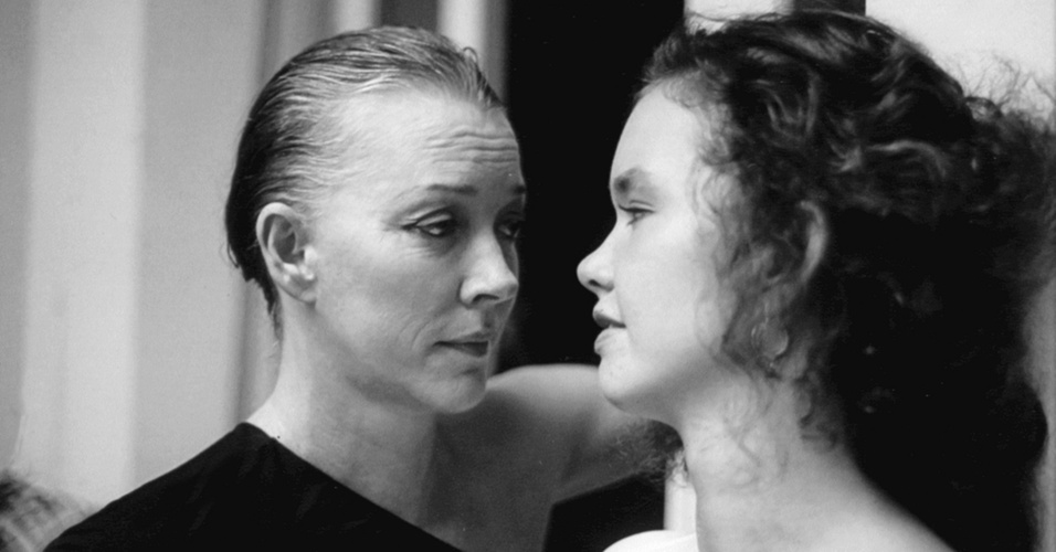 Lilian Lemmertz e Júlia Lemmertz nos anos 80
