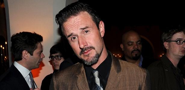 "O ator David Arquette na festa da revista ""GQ"" 2010 ""Men of the Year"", em Los Angeles (17/11/2010) - Michael Buckner/Getty Images for GQ"