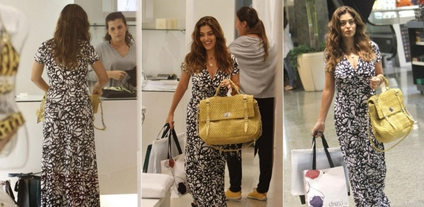 Juliana Paes faz compras em shopping carioca (28/2/2011)