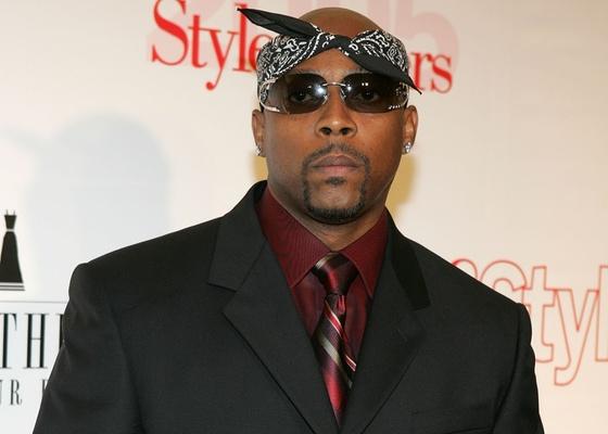 """Rapper Nate Dogg em evento da revista """"Life & Style"""" em Hollywood (26/5/2005)"""