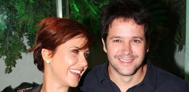 Guilhermina Guinle e Murilo Benício em evento em São Paulo (24/3/11)