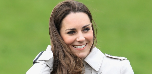 Kate Middleton no Greenmount Agricultural College em Belfast, norte da Inglaterra (8/3/2011) - Chris Jackson/Getty Images