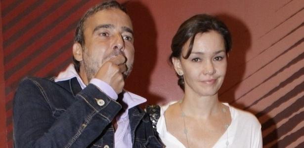 Alexandre Borges e Júlia Lemmertz na pré-estreia do filme