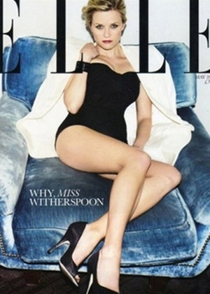 Reese Witherspoon na capa da revista