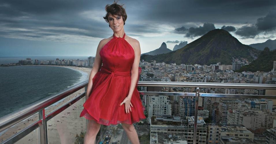 A apresentadora Maria Paula posa sensual para a revista Contigo! (abril/2011)