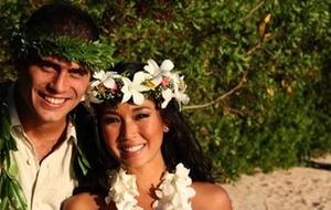 Fábio Novaes e Daniele Suzuki se casam no Havaí (abril/2011)