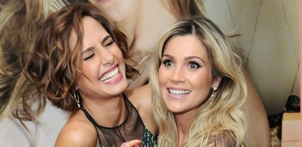 Camila Pitanga e Flávia Alessandra vão a lançamento de uma marca de joias no hotel Fasano, em São Paulo (14/4/2011)