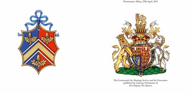 Capa do programa oficial do casamento do príncipe William e Kate Middleton, que será colocado à venda no dia do casamento real (19/4/2011) - Clarence House/handout/Reuters