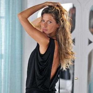 Gisele Bündchen posa para grife de roupa (abril/2011)
