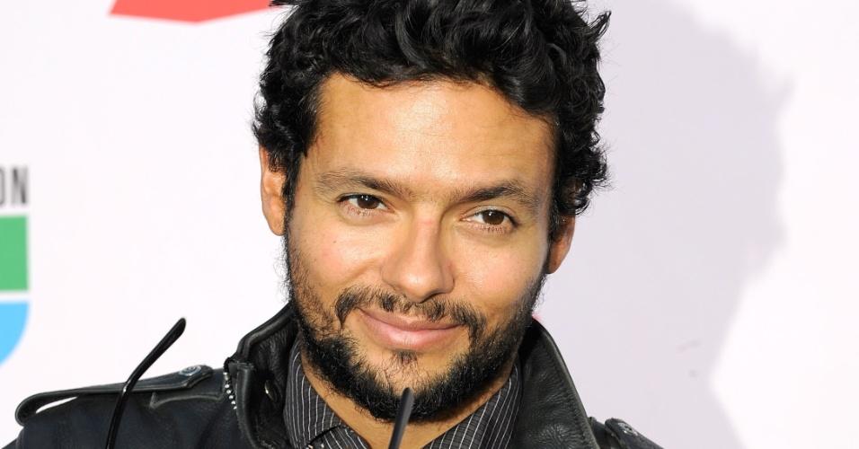 O produtor Robi Draco Rosa no 10ª edição do Grammy Latino, em Las Vegas (5/11/2009)