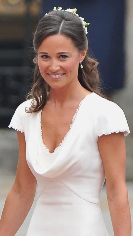 Pippa Middleton no dia do casamento de sua irmã Kate com o príncipe William - Pascal Le Segretain/Getty Images