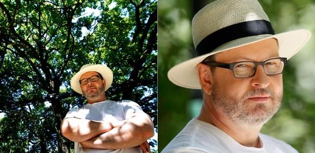 Lars von Trier é fotografado em entrevista na cidade Mougins, na França (21/5/11). O diretor foi banido do Festival de Cannes após declarar que simpatiza com o nazismo e que entende Hitler