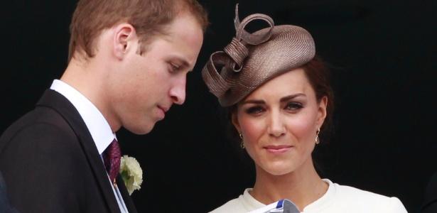 Príncipe William e a duquesa Catherine no Epsom Derby, em Epsom (4/6/2011) - REUTERS/Suzanne Plunkett