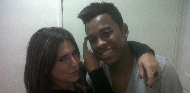 Fernanda Paes Leme e Robinho (10/6/11)