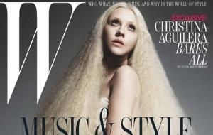 Cantora Christina Aguilera posa nua para a capa da revista