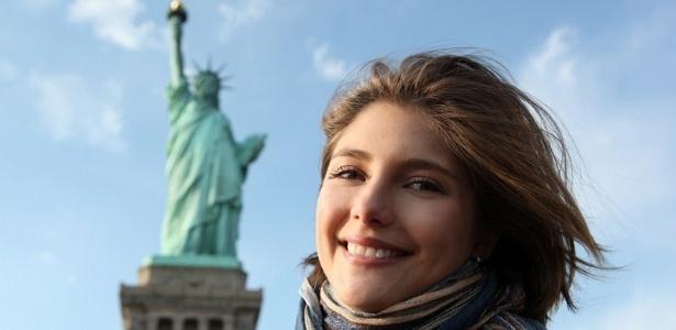 A atriz Tammy Di Calafiori (fevereiro/2011)