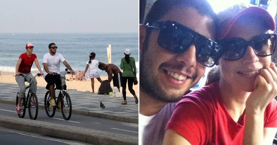 Luana Piovani passeia com o namorado, Pedro Scooby, no Rio de Janeiro (2/7/11)