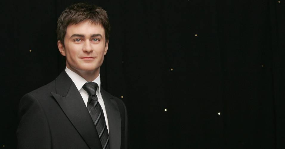Figura de cera do ator Daniel Radcliffe no museu Madame Tussauds de Londres (2/7/2007)