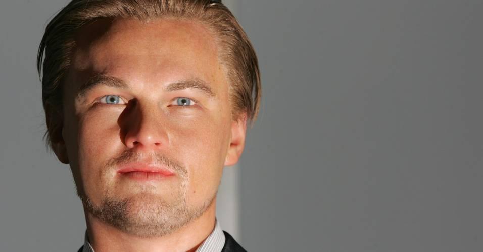 Figura de cera do ator Leonardo DiCaprio no museu Madame Tussauds de Londres (16/8/2007)