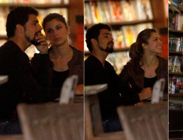 Cauã Reymond e Grazi Massafera jantam com amigos no Rio (7/7/2011)