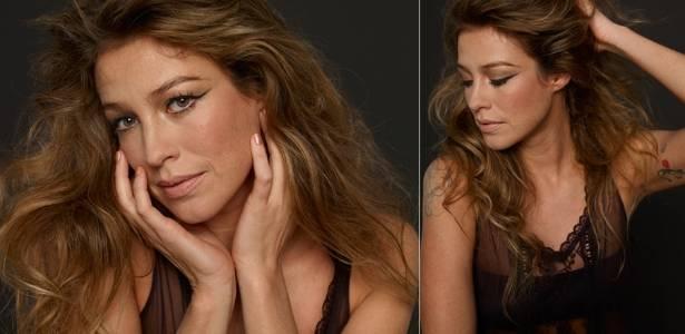 Luana Piovani mostra tatuagens em ensaio para site (julho/2011)
