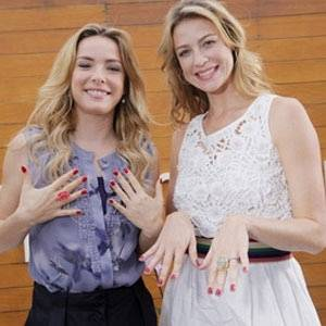 Regiane Alves e Luana Piovani no