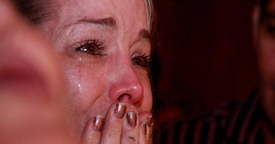 "Atriz Danielle Winits se emociona com o musical ""Tim Maia Vale Tudo, O Musical"" (8/8/11)"