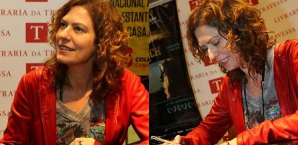 """Patrícia Pillar no lançamento do DVD """"Waldick - Sempre no Meu Coração"""", no Rio (8/8/2011)"""