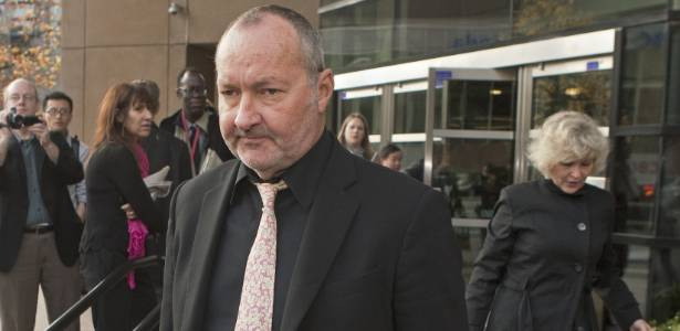 Randy Quaid sai de tribunal em Vancouver após audiência sobre pedido de imigração para o Canadá (8/11/2010) - Brainpix