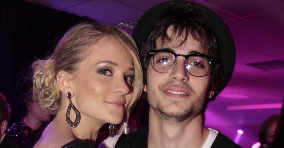 Natália Franscino e o namorado Fiuk durante festa do Pêmio Multishow (6/9/11)