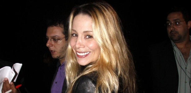 A atriz Danielle Winits, que pode estar no elenco da próxima novela das oito